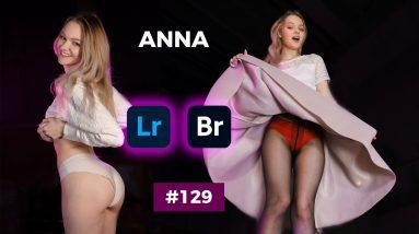 Anna's Black Sheer Pantyhose - Adobe Bridge & Lightroom #129