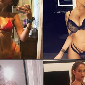 sexy and hot celebr selfies | mirror selfies | bikini selfies | the big celeb selfies