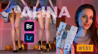 Alina & Glossy Pantyhose - Adobe Bridge & Lightroom #131