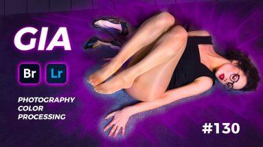 Gia's Glossy Sheer Pantyhose - Adobe Bridge & Lightroom #130