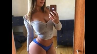 SIZZLING HOT CHEEKY MICRO BOOTY SELFIE PHOTOS (18 + ADULTS)