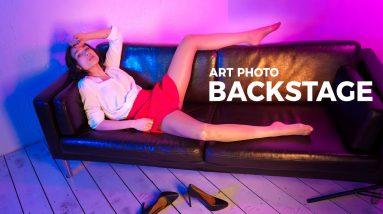 Nicole Pantyhose Art Show - Photo Session Backstage 2021-04(2)