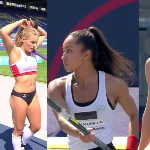 Hot Pole Vaulters from Germany