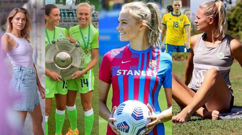 Fridolina Rolfö - Blond Swedish Soccer Player